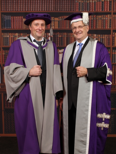 Prof. Mark Rummeli and prof. John Raftery